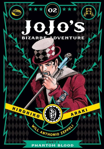 JOJO'S BIZARRE ADVENTURE: PART 1 - PHANTOM BLOOD 02 DELUXE HC