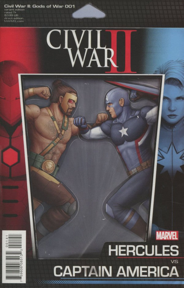 CIVIL WAR II: GODS OF WAR (2016) #1