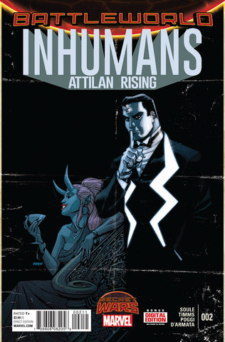 SECRET WARS: INHUMANS ATTILAN RISING (2015) #2