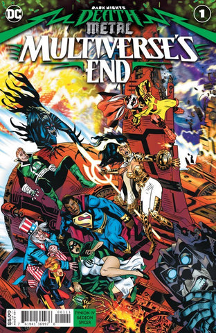 DARK NIGHTS: DEATH METAL - MULTIVERSE'S END (2020) #1