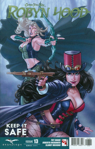 GRIMM FAIRY TALES PRESENTS ROBYN HOOD (2014) #13 SANAPO VARIANT