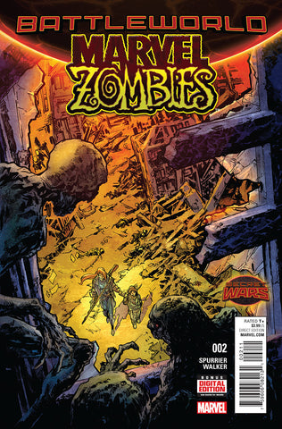 SECRET WARS: MARVEL ZOMBIES (2015) #2