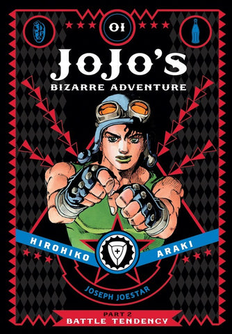 JOJO'S BIZARRE ADVENTURE: PART 2 - BATTLE TENDENCY 01 DELUXE HC