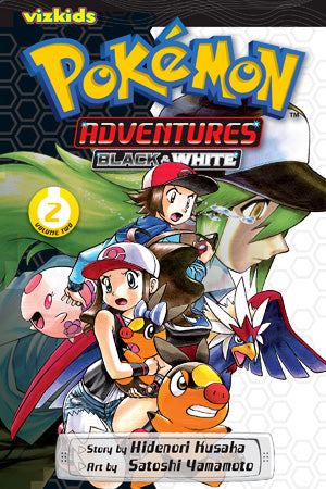 POKEMON ADVENTURES: BLACK AND WHITE VOL. 2