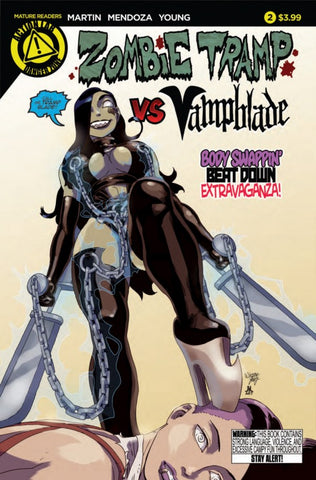 ZOMBIE TRAMP VS VAMPBLADE (2015) #2