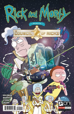 RICK AND MORTY PRESENTS: COUNCIL OF RICKS (2020) #1