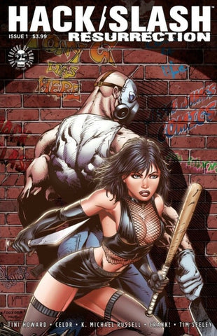 HACK/SLASH: RESURRECTION #1 MARAT VARIANT