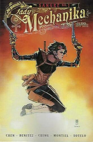 LADY MECHANIKA: SANGRE #1 VARIANT
