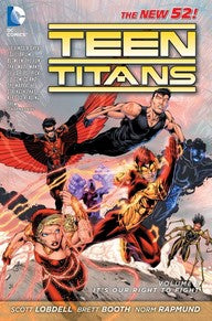 TEEN TITANS VOL. 1: IT'S OUR RIGHT TO FIGHT
