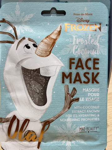 Masques Adultes Disney Reine des Neiges Olaf
