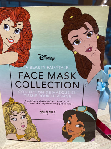 Masques Adultes Disney Princesse Lot de 4