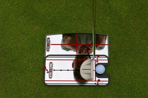 Eyeline Golf Shoulder Mirror - Putting Alignment Mirror (Small)