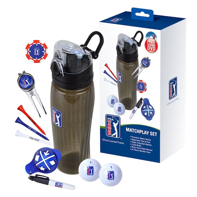 PGA Tour Matchplay Drink Bottle Accessory Set