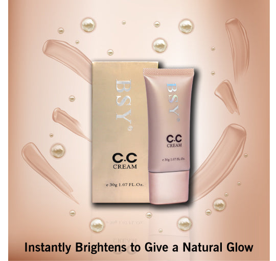 BSY Smooth & Light CC Cream | Complexion Care CC Cream | Nourishing Color Correction Cream | 30g