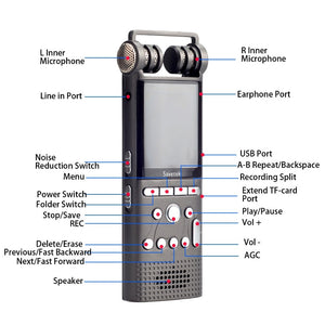 Voice Activated Digital Voice Recorder