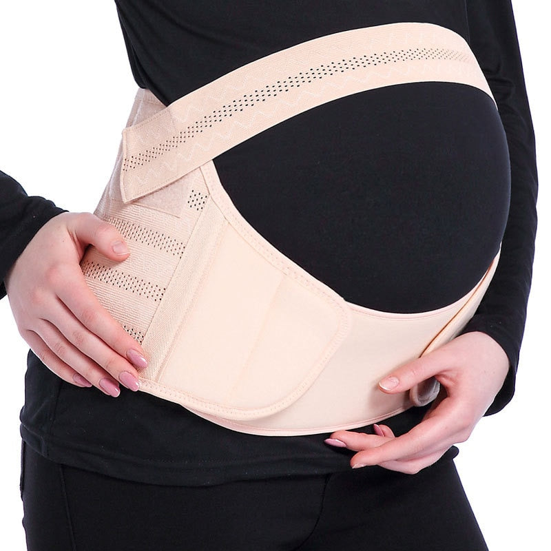 Pregnancy Belt | Maternity Belly Support Band|  Breathable Waist Brace & Pregnancy Protector .