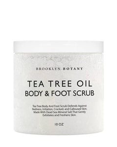Tea Tree Oil Body & Foot Scrub