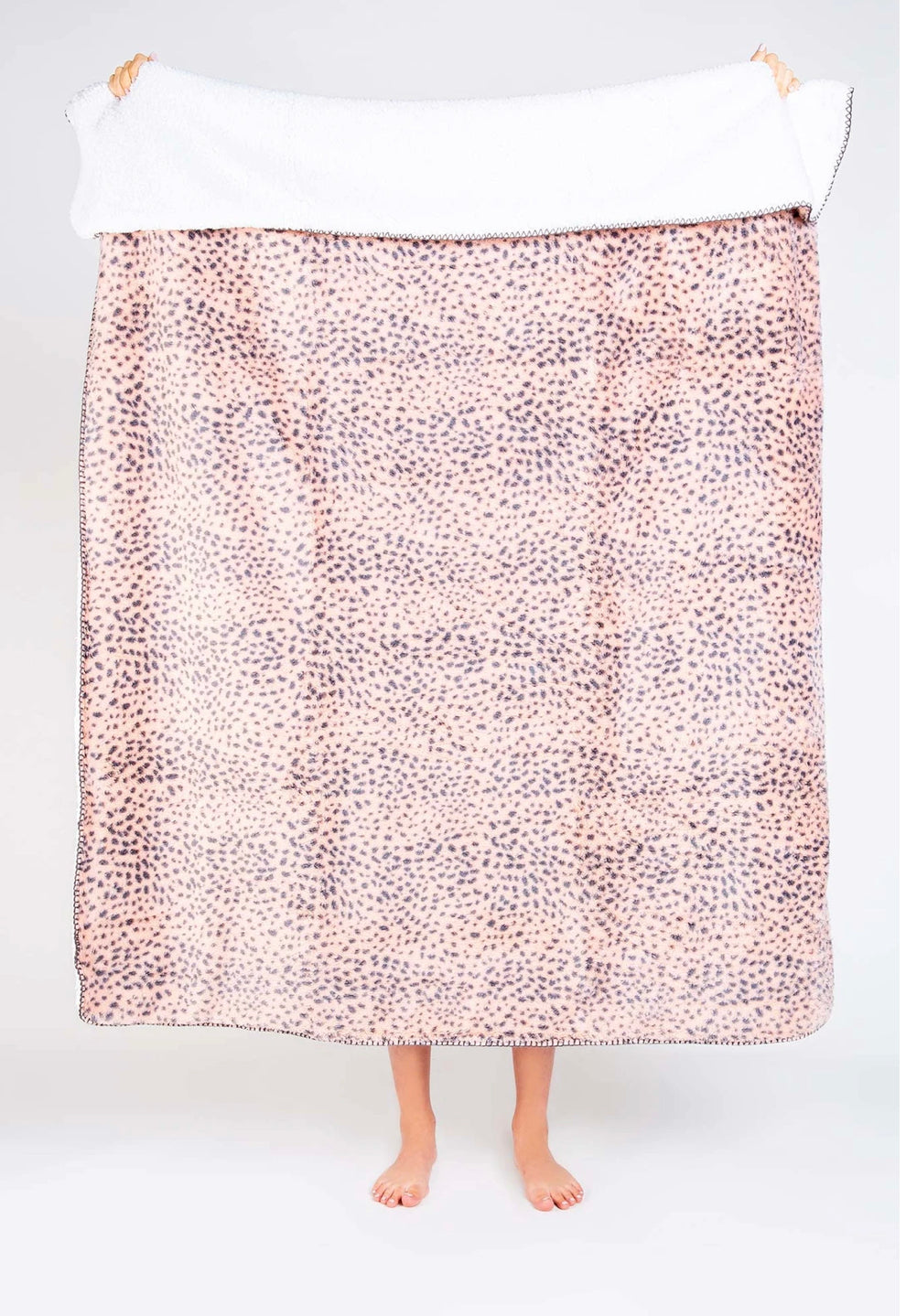 PJ Salvage Cozy Blanket~ Blush
