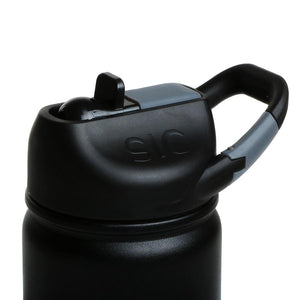 27oz. Matte Black Water Bottle