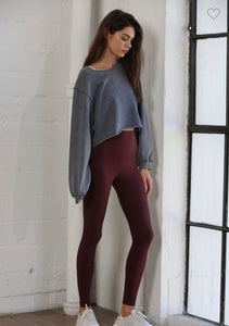 Bailey Leggings ~ Cassis