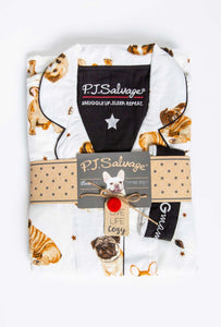 PJ Salvage Dog Flannel PJ Set