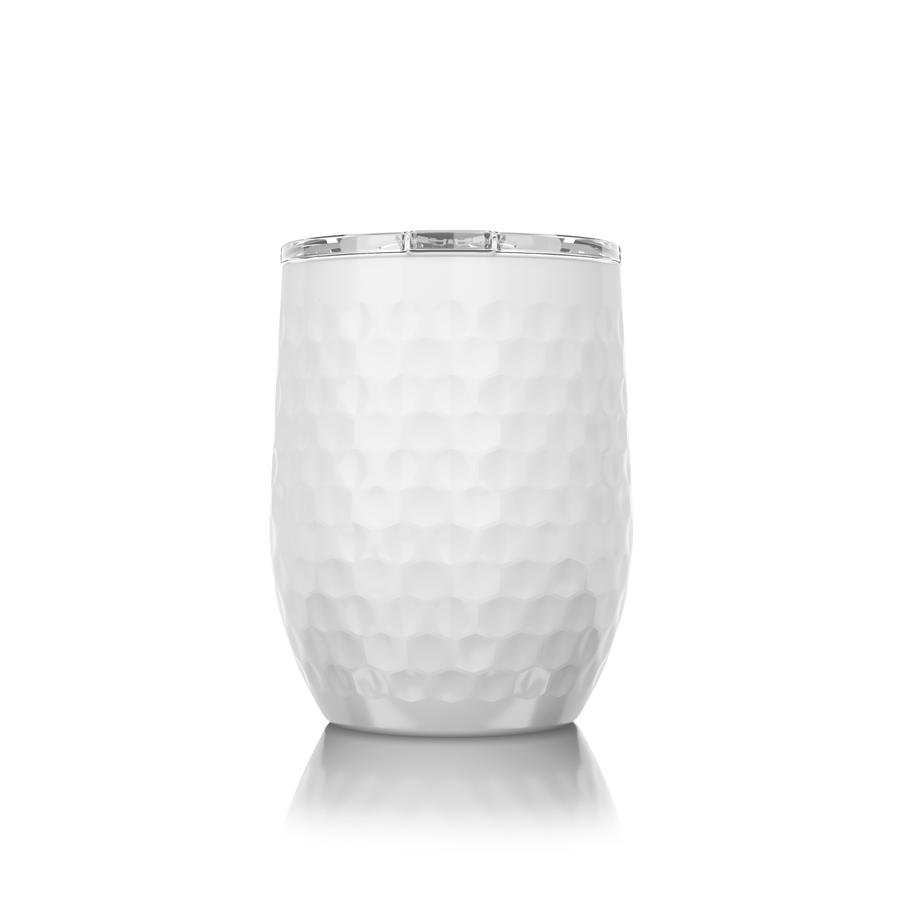 16 oz. Stemless Dimpled Golf