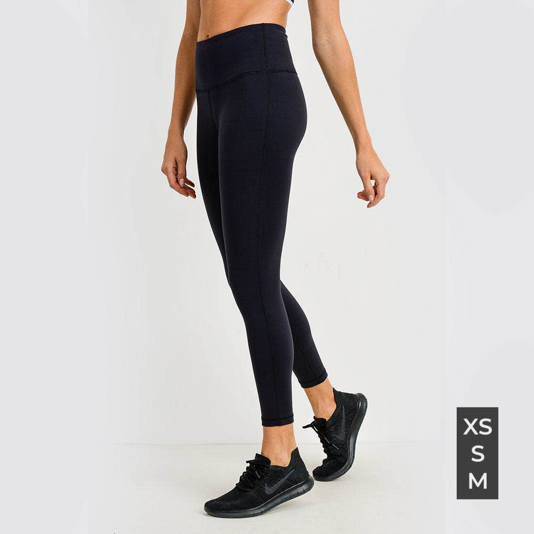 Lycra-Blend Essential Leggings