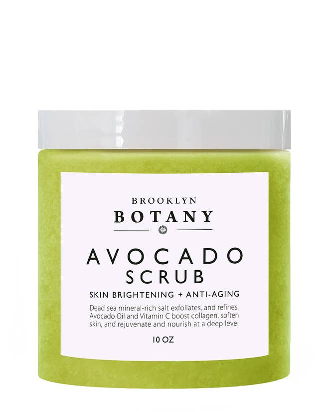 Avocado Body Scrub