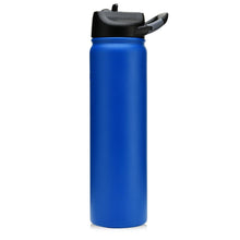 Load image into Gallery viewer, 27 oz Matte Deep Blue SIC Stainless Steel Water Bottle