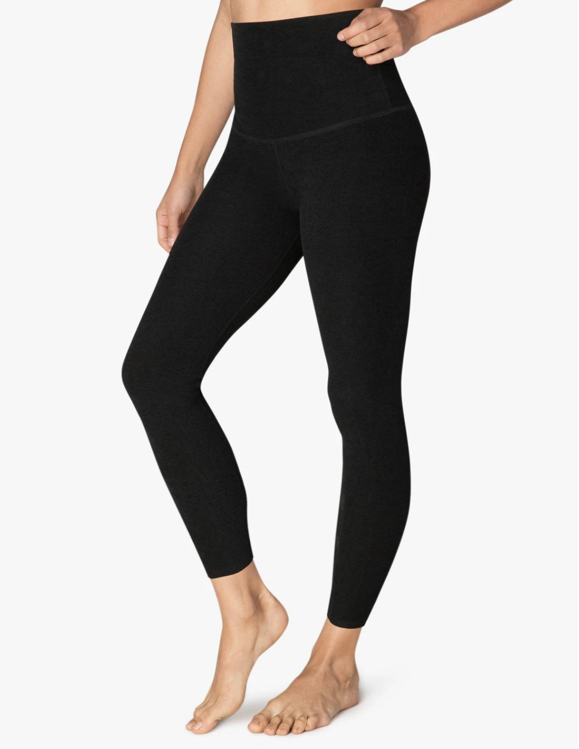 Beyond Yoga Spacedye Caught In The Midi High Waisted Legging~ Darkest Night