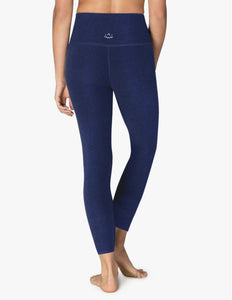 Beyond Yoga Spacedye Caught In The Midi High Waisted Legging~ Nocturnal Navy