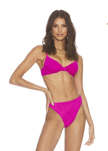 Beach Riot Camilla Top Fuchsia Rose