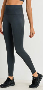 Seamless Textured Track Side Leggings