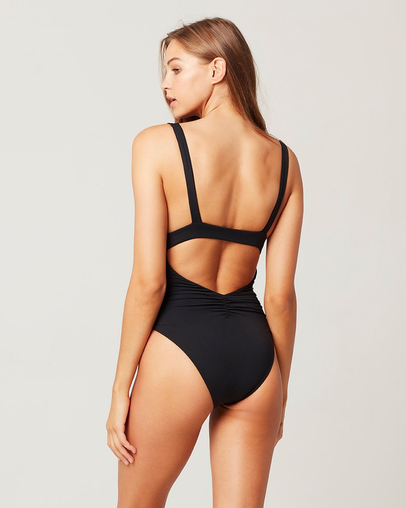 L Space Sydney One Piece Swimsuit ~ Black