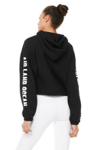 Load image into Gallery viewer, Alo Yoga Solar Hoodie ~ Black