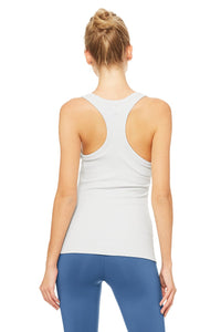 Alo Yoga Rib Support Tank - Dove Grey