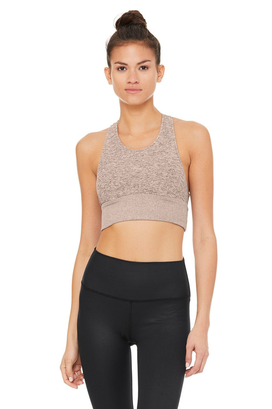 Alosoft Serenity Bra Gravel Heather