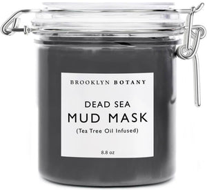 Dead Sea Mud Mask Infused with Tea Tree Oil