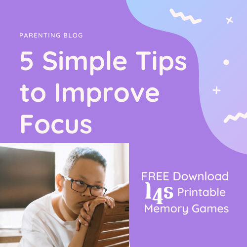 5 Simple Tips to Improve Focus