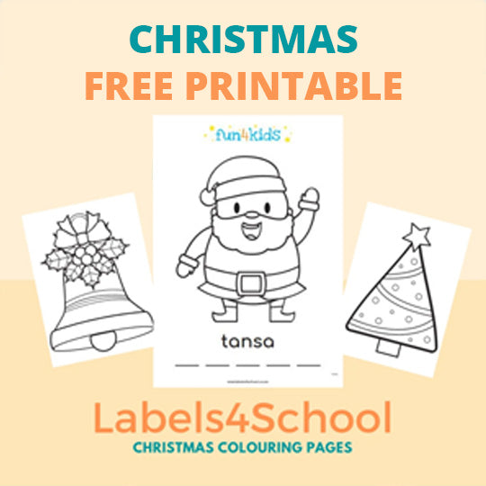 Christmas & Holiday colouring pages