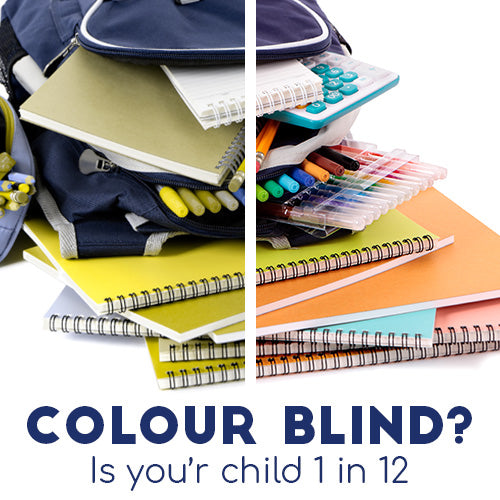 Colour Blind - Is your child 1 in 12?