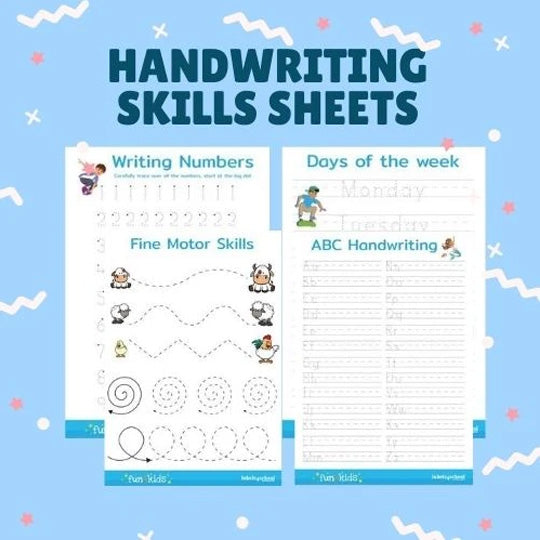 Primary School Handwriting Freebies
