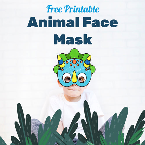 Now for something FUN! - Free Printable Face Masks for Kids