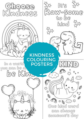 Kindness colouring