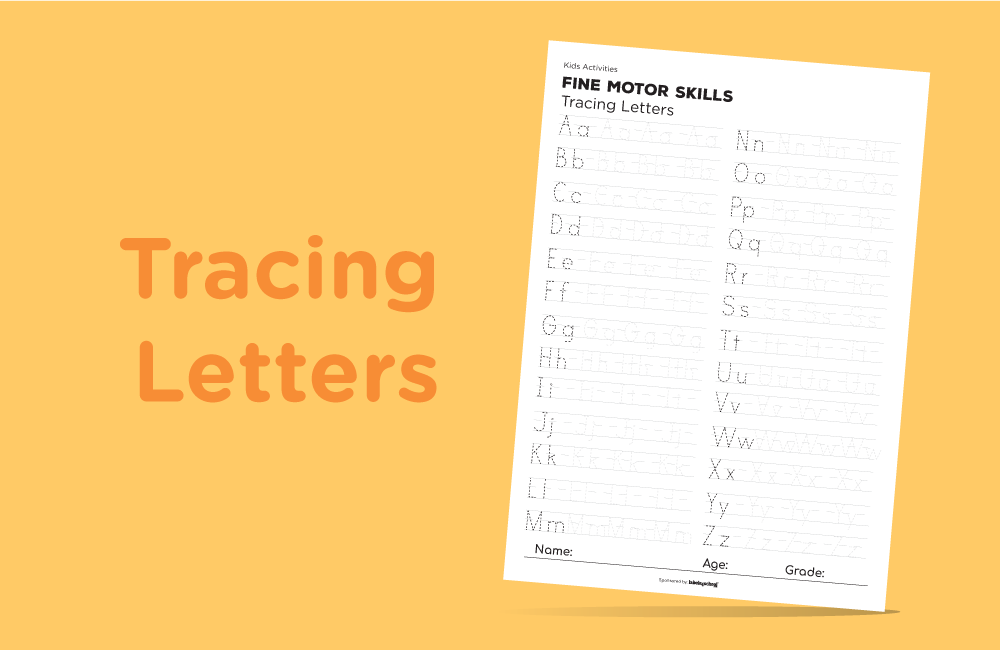 Free Printable-fine motor-Labels4school-tracing letters