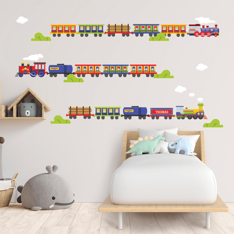Trains Wall Decal