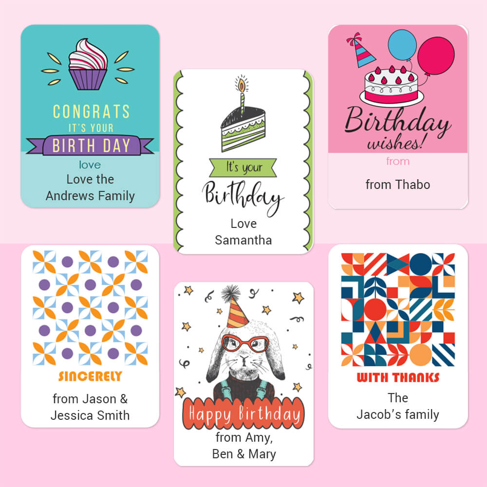 Gift Labels - Customisable
