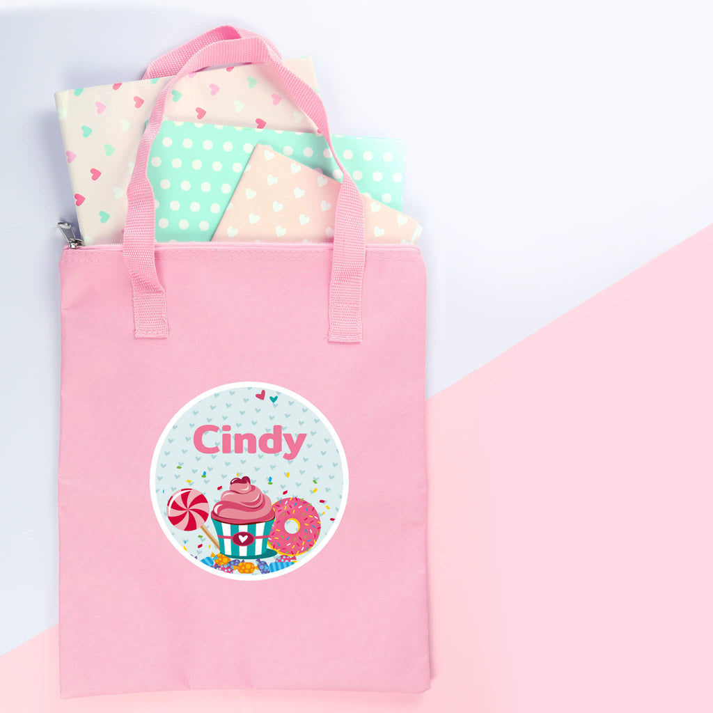 Library Bag - Pink