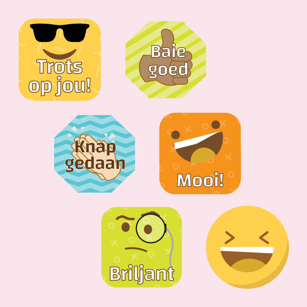 Emoji Merit Labels
