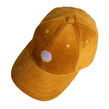 Load image into Gallery viewer, Corduroy Sunrise Logo Cap - Mustard Yellow